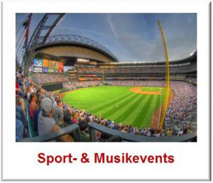 Sport-&Musikevents